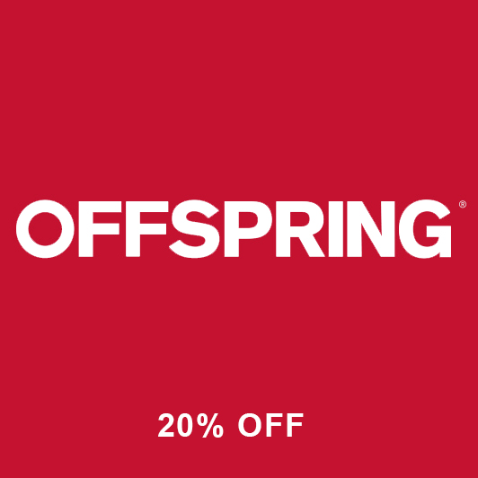 OFFSPRING 20% OFF + FREE UK DELIVERY