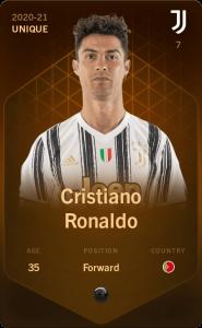 Cristiano Ronaldo sorare unique card